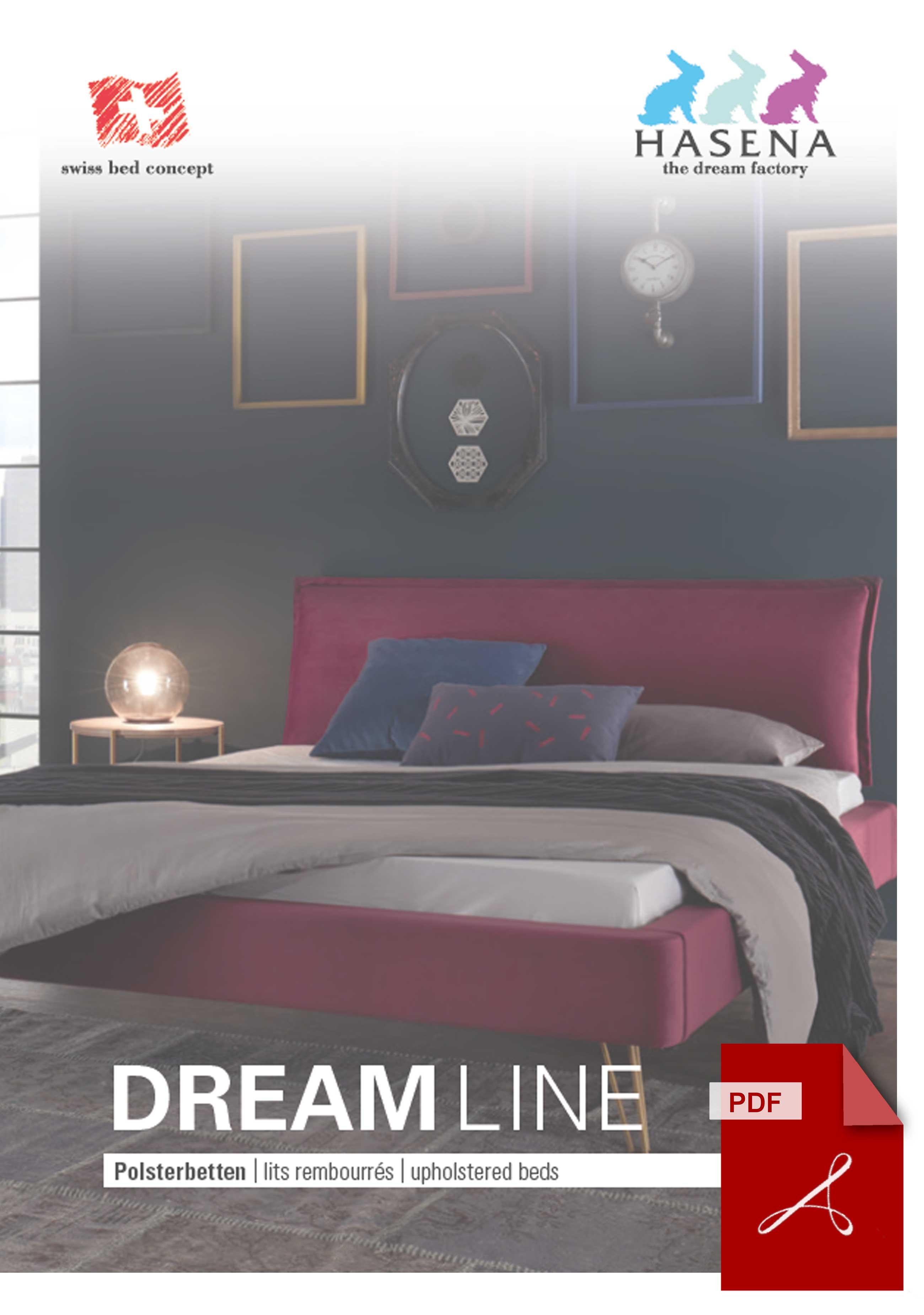 Hasena Dreamline + Dreamline Pronto Katalog als PDF Datei
