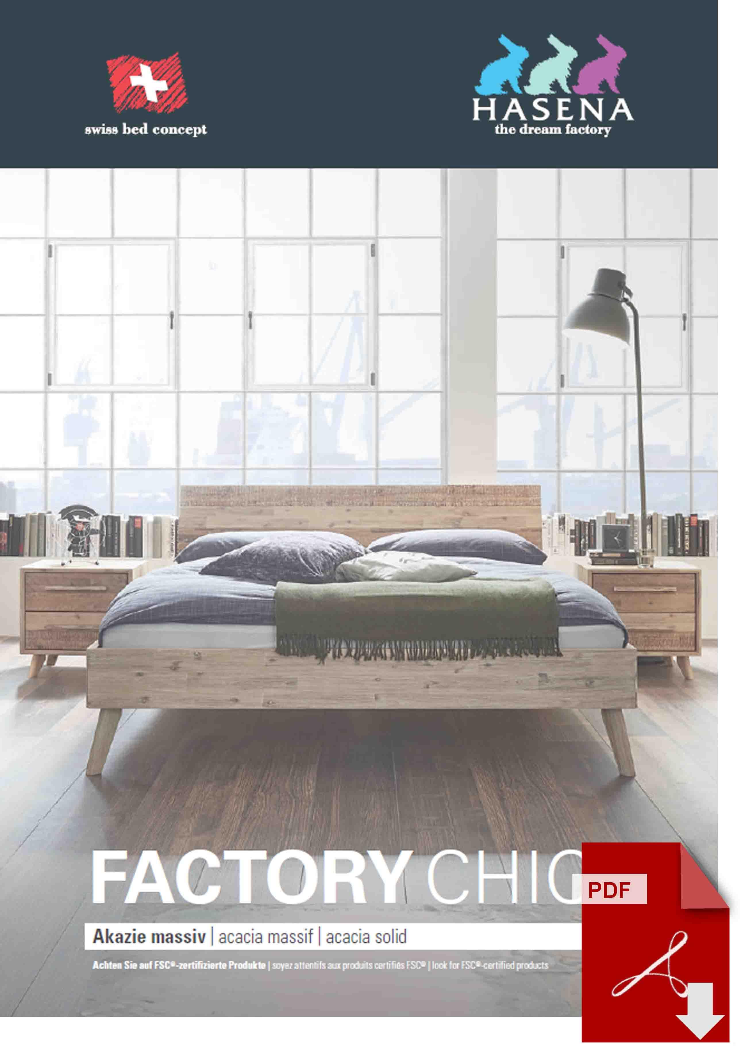 Hasena Factory Chic Katalog als PDF Datei