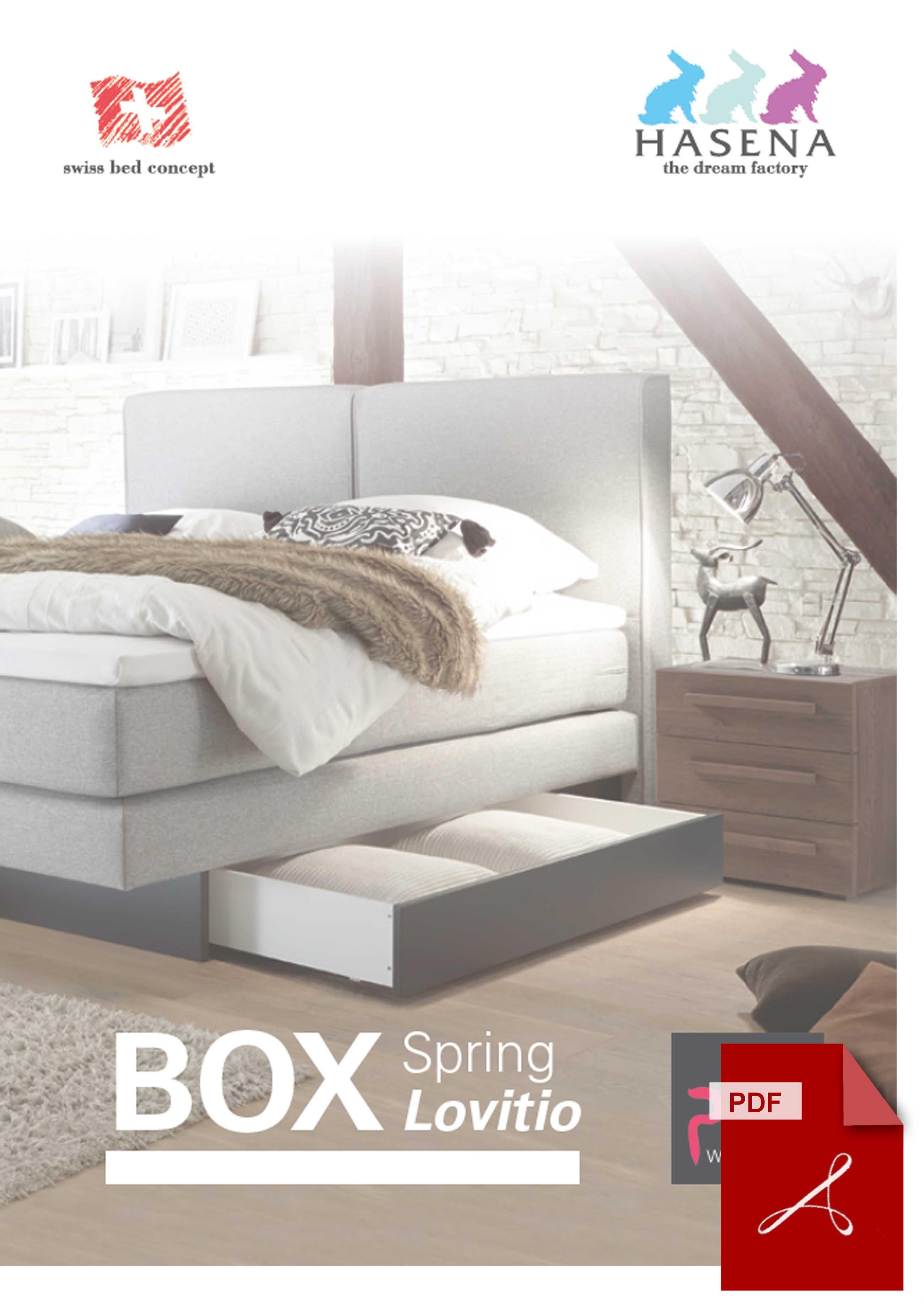 Download Katalog Hasena Boxspringbett Lovitio