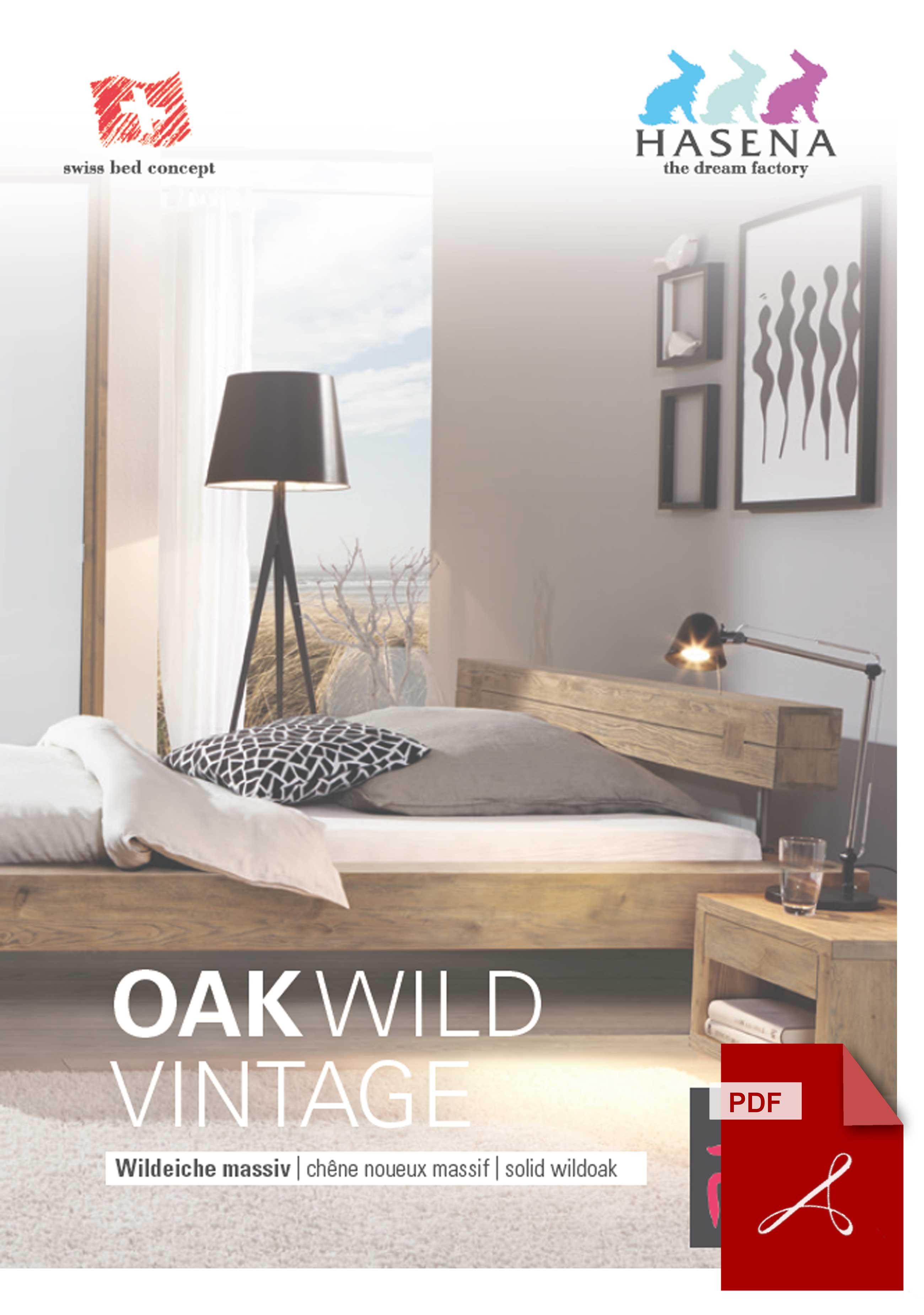 Hasena Oak Wild Vintage Katalog als PDF Datei