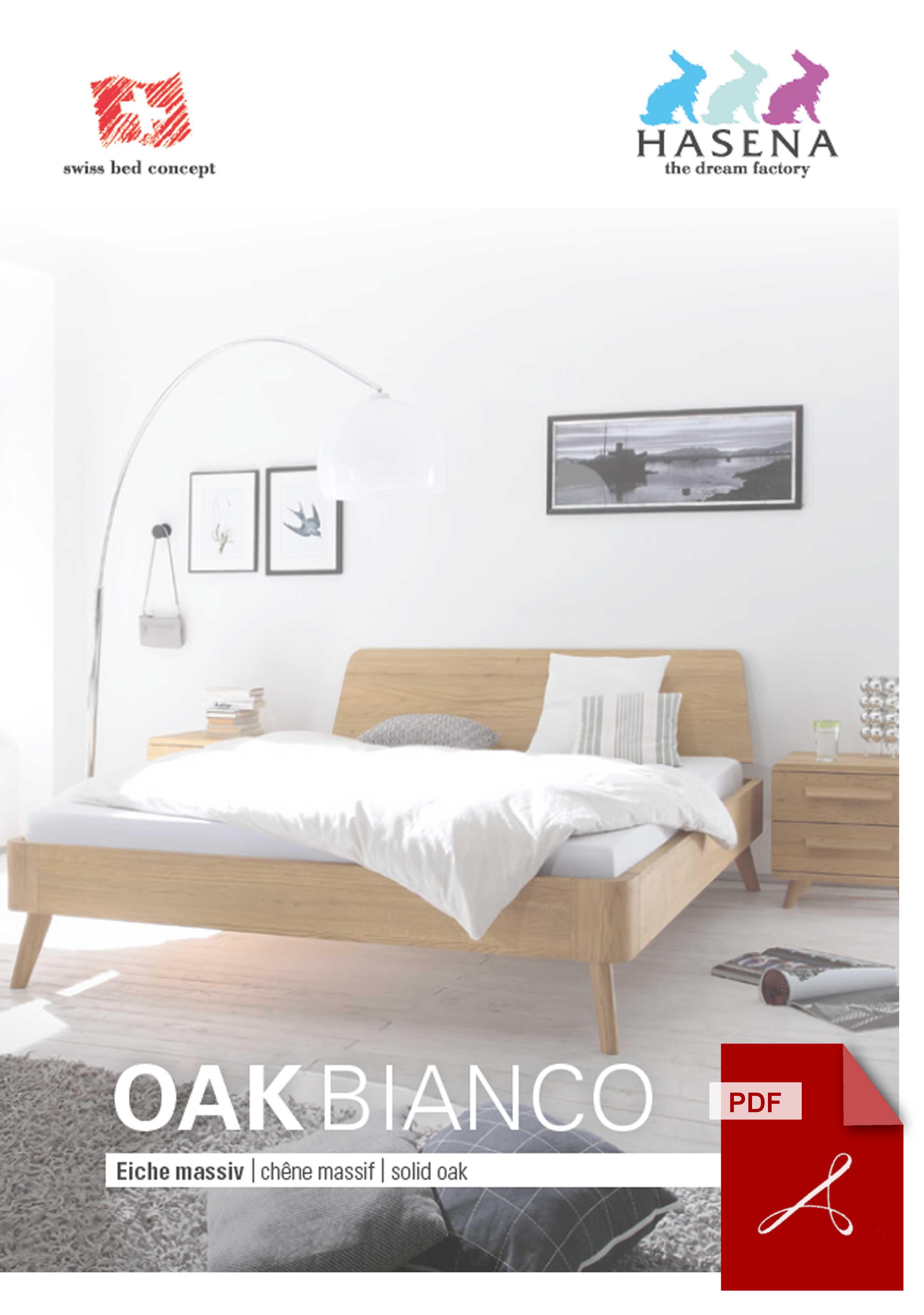 Hasena Oak Bianco Katalog als PDF Datei