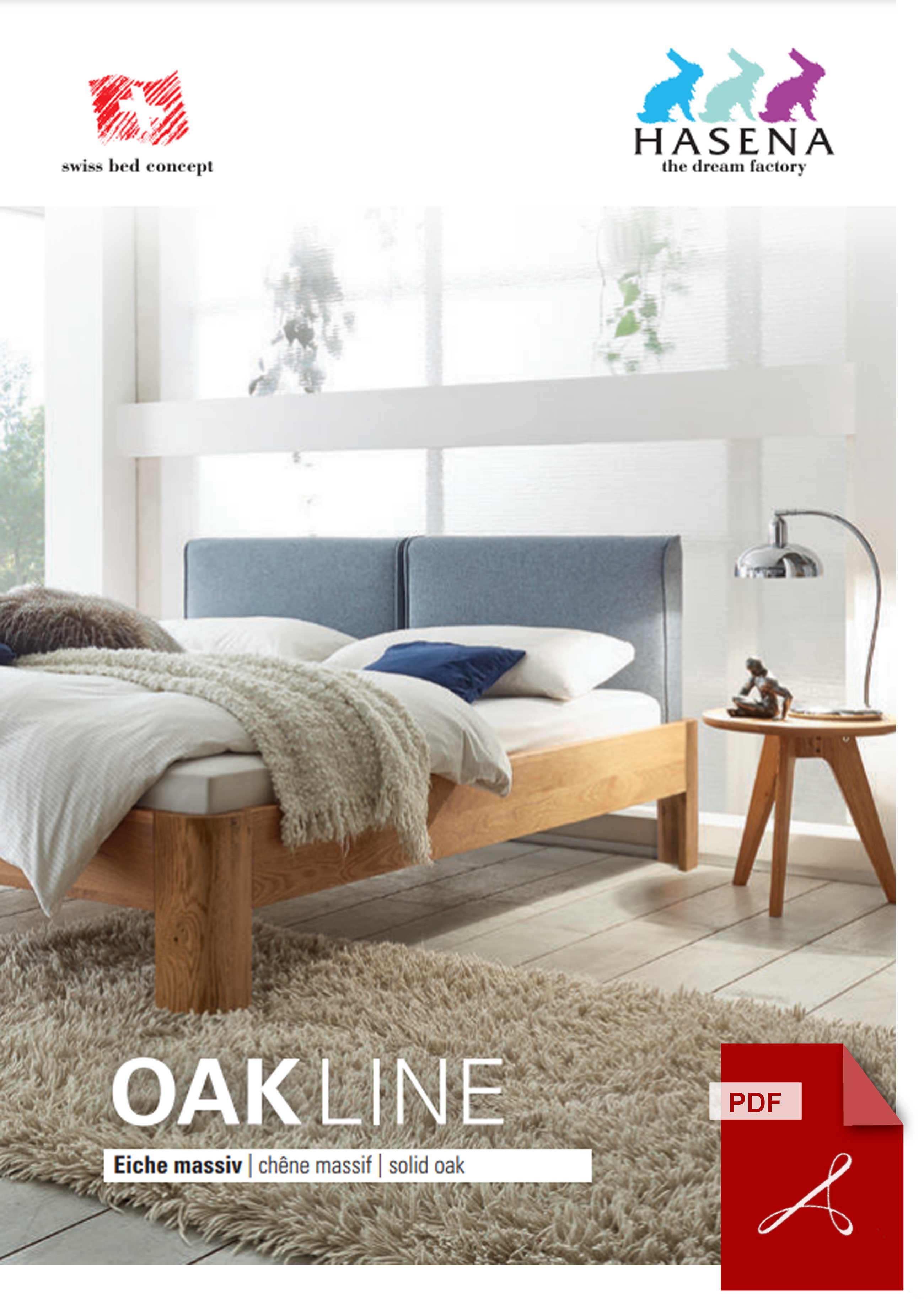 Hasena Oak Line Katalog als PDF Datei