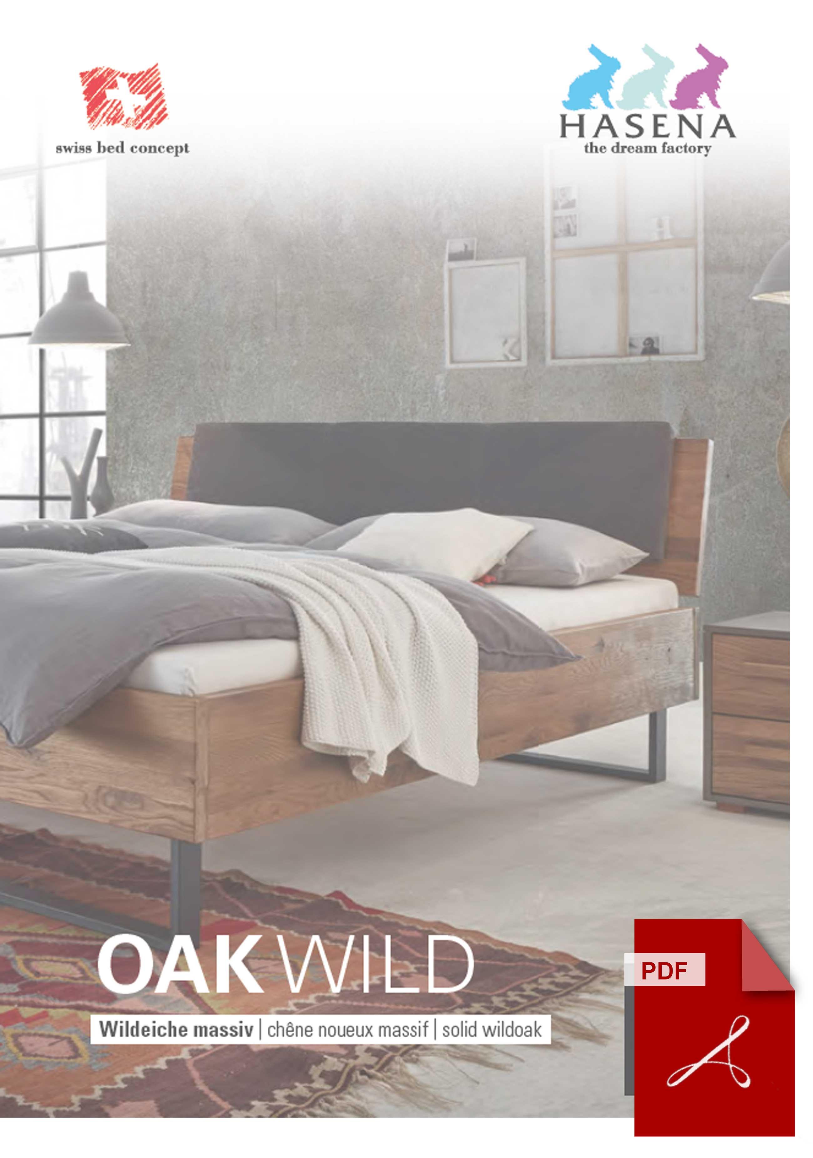 Hasena Oak Wild Katalog als PDF Datei