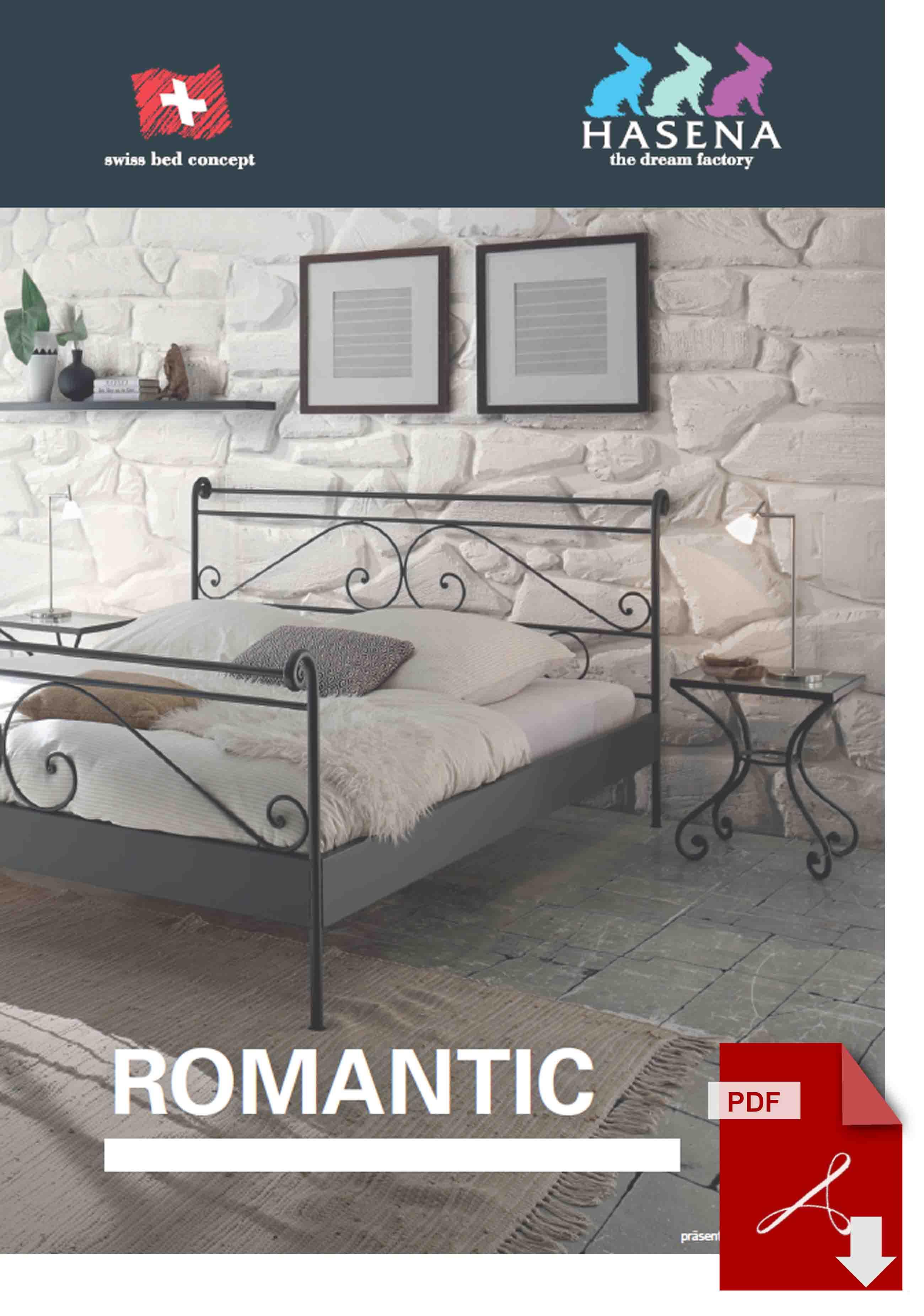 Hasena Romantic Katalog als PDF Datei