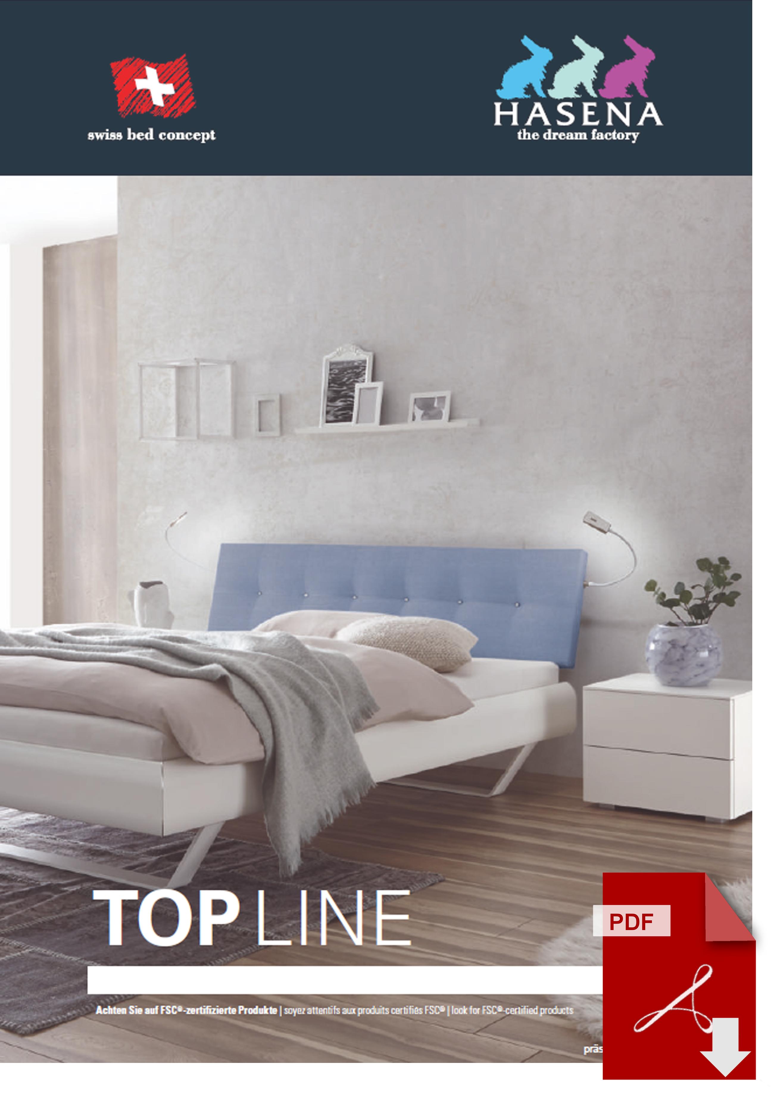 Hasena Top Line Katalog als PDF Datei