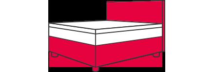Boxspring-Bett