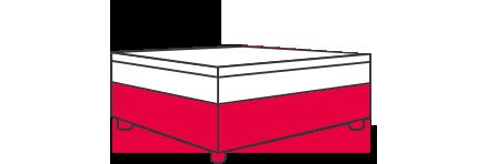 Hasena Boxspring-Bett: Die Box