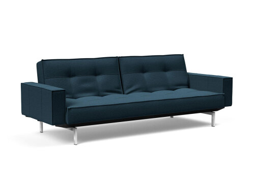 Innovation Splitback Klappsofa mit Armlehne